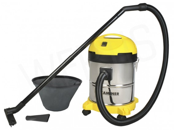 VACUUM CLEANER INDUSTRIAL wet and dry 20 l